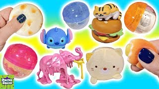 Huge Capsule Toy Haul! Gashapon Surprise Toy Show! Doctor Squish