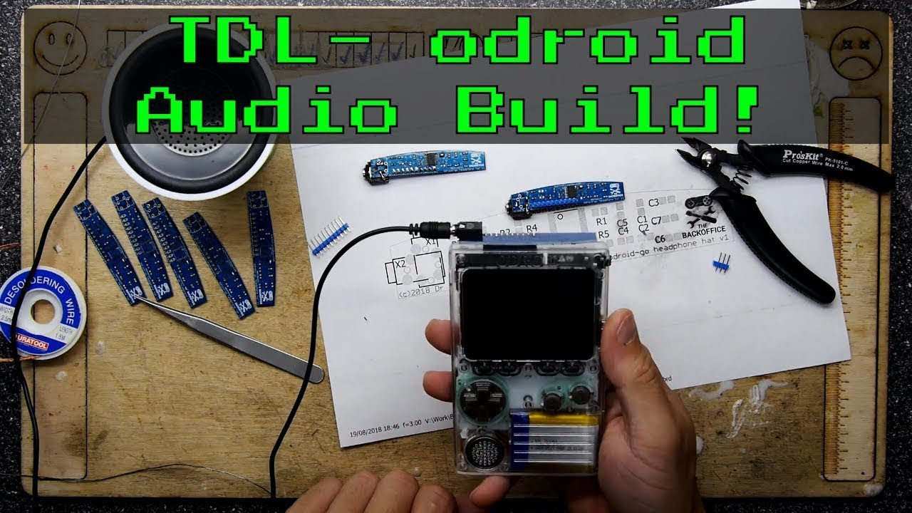 TDL- Odroid Go Headphones and DAC by backofficeshow
