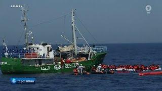 Irrsinn im Mittelmeer - Rettungsschiffe in Seenot
