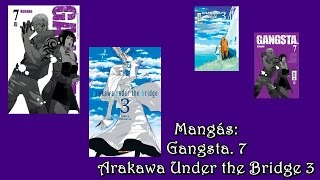 Vamos falar sobre mangá: Arakawa Under the Bridge 3 e Gangsta  7 *Sem Spoiler* #16
