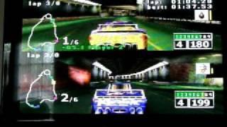 NASCAR RUMBLE 2 PLAYER MODE RACE #2