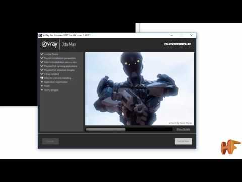 download and install vray 3.4.01 beta for 3dmax 2017+crack
