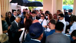 Funeral de Nelson Mills RABITO TECHO