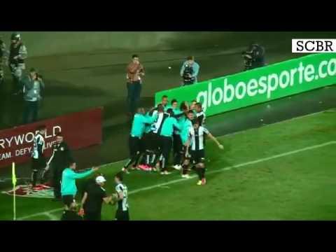 Fluminense 2 x 4 Santos - GOLS - Brasileirão 2016