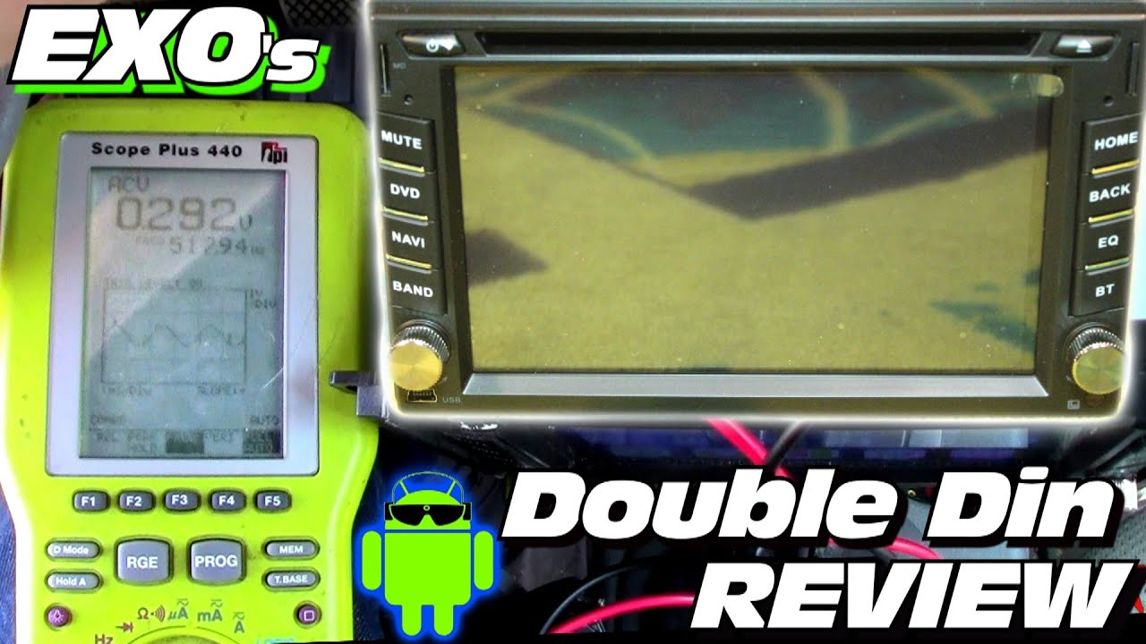 SPIKED Signals!? Reviewing EXO's Android Double Din Head Unit w/ Rungrace  Car Stereo from GearBest