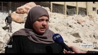 خروج مستشفى  كفرتخاريم في إدلب عن الخدمة بسبب الاستهداف المباشر