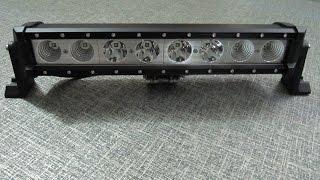 Дополнительные светодиодные фары LED 029-80W(Дополнительные светодиодные фары LED 029-80W Combi ( луч 30+60 градусов), однорядное расположение светодиодных моду..., 2013-12-27T11:37:39.000Z)