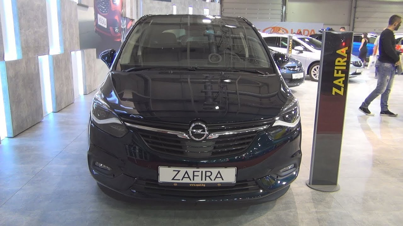 opel zafira innovation 2 0 cdti 6at 2018 exterior and. Black Bedroom Furniture Sets. Home Design Ideas