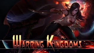 League of Legends: Warring Kingdoms Katarina (Skin Spotlight)