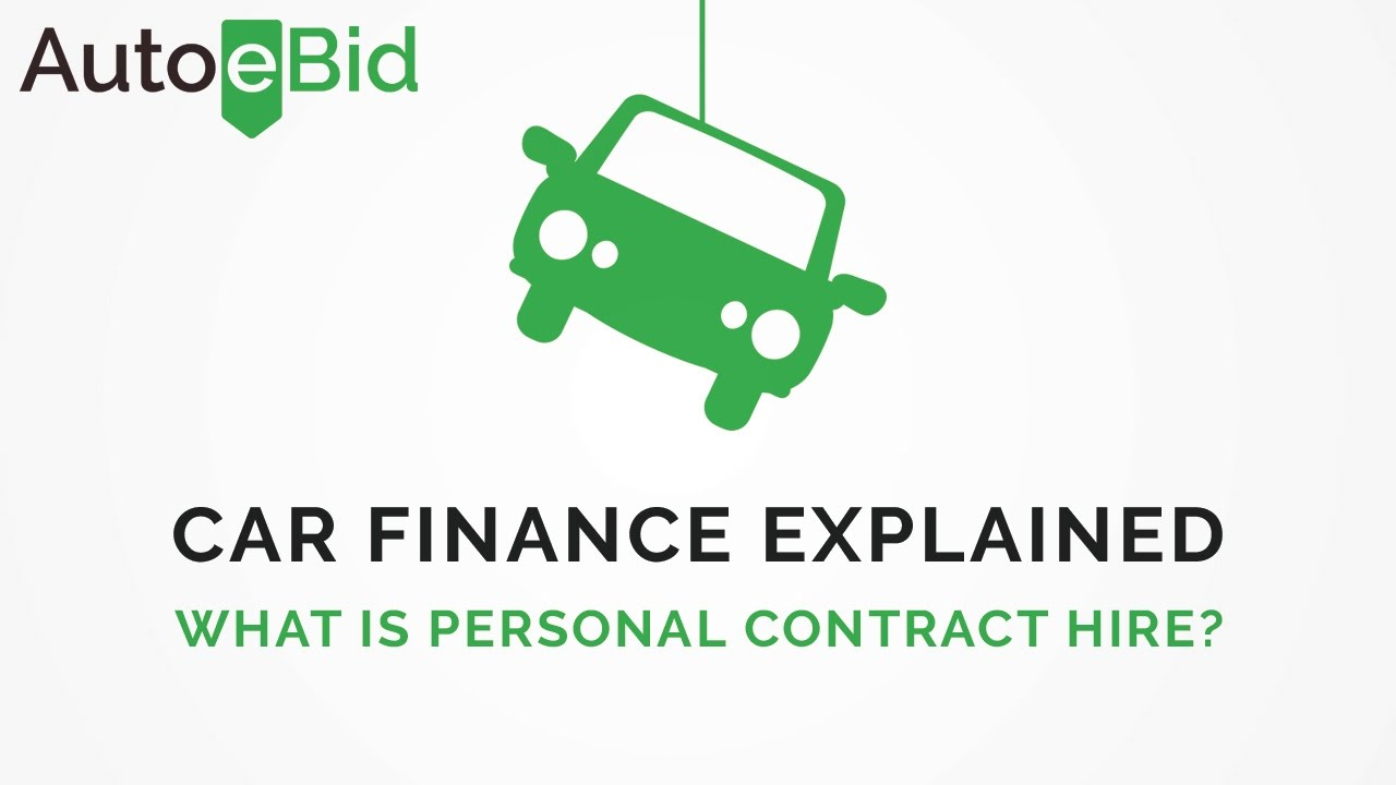 Car Finance Explained What Is Personal Contract Hire Pch Personal