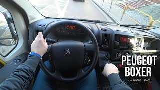 New Peugeot Boxer 2018  2.0 BlueHDi Euro 6 4K | POV Test Drive #038 Joe Black
