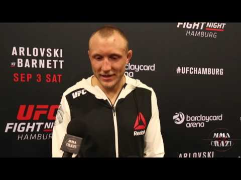 Jack Hermansson  UFC Fight Night Hamburg Post Fight Media Scrum
