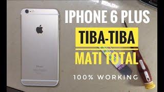cara servis iPhone 6 mati total.