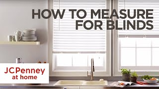 How to Measure For Blinds and Shades: Inside and Outside Mount | JCPenney Mp3
