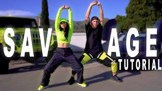 SAVAGE - Megan Thee Stallion & Beyonce Dance TUTORIAL   Matt Steffanina