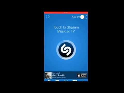 How to: use the shazam app