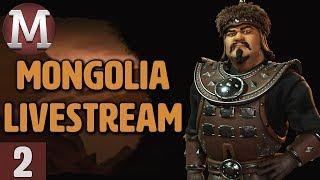 Video Civ 6: Rise & Fall - Mongolia Livestream Gameplay - Part 2 download MP3, 3GP, MP4, WEBM, AVI, FLV Maret 2018