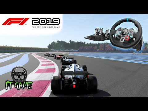 F1 2019 Gameplay And Logitech G29 & G920 Settings!