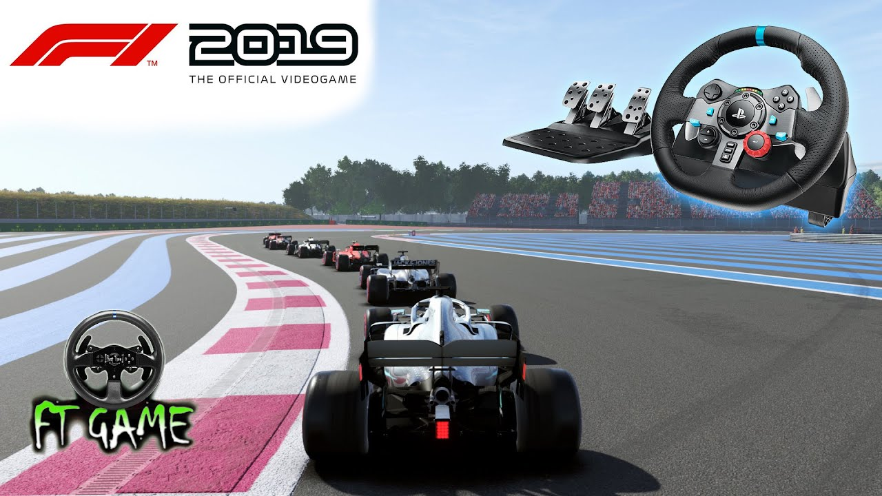 F1 2019 Gameplay and Logitech G29 & G920 Settings! - YouTube