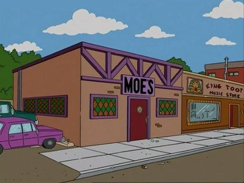 Maison simpson et bar de moe minecraft youtube - Bar de maison ...
