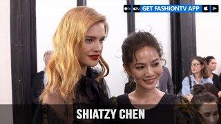Paris Fashion Week Spring/Summer 2018 - Shiatzy Chen Front Row | FashionTV