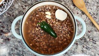 Pot Of Pinto Beans Recipe  Frijoles De La Olla Recipe