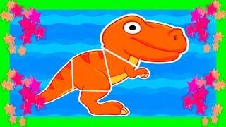 😀 DINOSAURIOS PARA PEQUES 😀 La Isla Dinosaurio PEQUEÑOS DINOSAURIOS