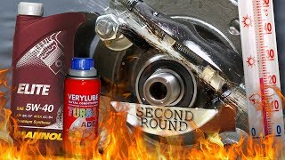 Xado Turbo Verylube + Mannol Elite 5W40 Test Tarcia 100°C 2kg