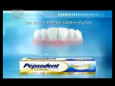 Iklan Pepsodent Complete 8 Youtube