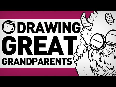 Drawing Mythical Grandparents