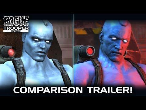Rogue Trooper Redux Graphics Comparison Trailer