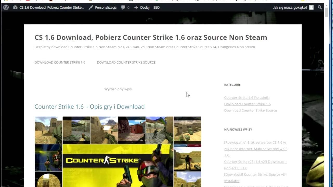 cs go download free non steam bez klucza