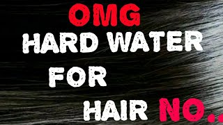LOVE YOUR HAIR THEN STOP HARD WATER, WHY JUST WATCH THIS VIDEO