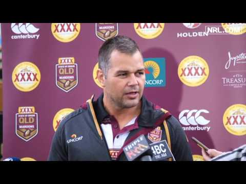 Maroons wary of Blues attack