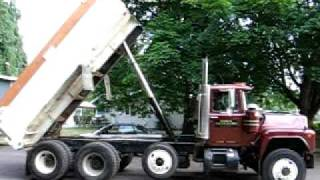89 Mack start up | drive | dump FOR SALE ON EBAY