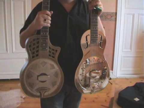 Un-boxing the Highway 61 resonator guitar! (Just for the fun of it..)