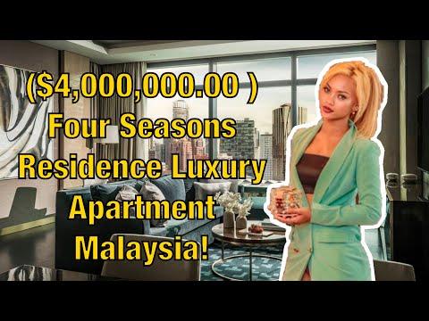 $4,000,000.00 Four Seasons Residence Luxury Apartment Malaysia!