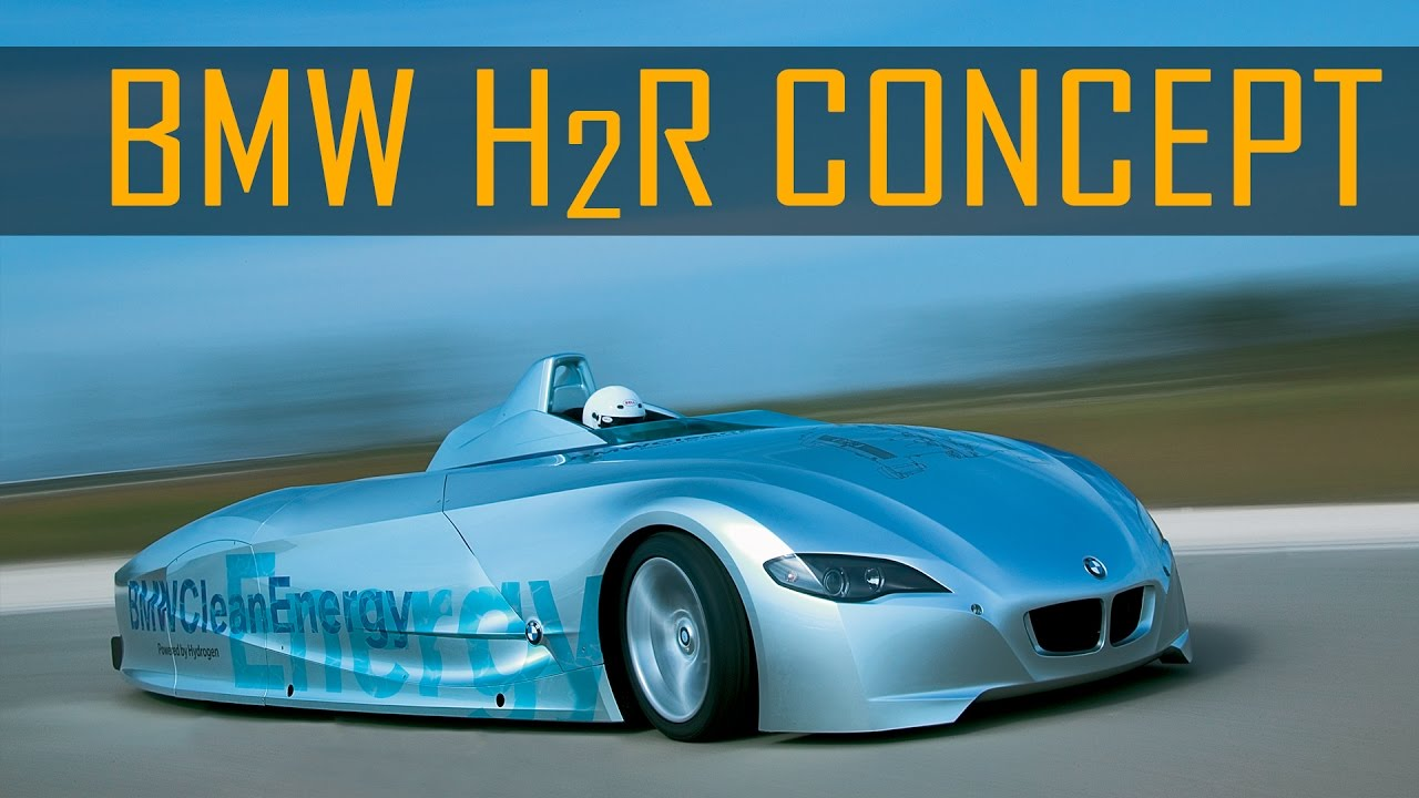 BMW H2R Hydrogen Race Car Record Run in Miramas, France (2004) - YouTube