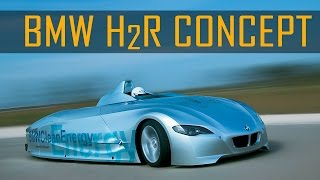 BMW H2R Hydrogen Racecar Videos
