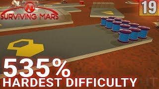 Surviving Mars 535% HARDEST DIFFICULTY - Part 19 - LOOKING AT THE DETAILS - Gameplay