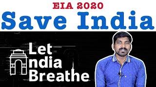 Save India | 8 வழிச்சாலை | EIA Draft 2020 Explained | Tamil Pokkisham | Vicky | TP
