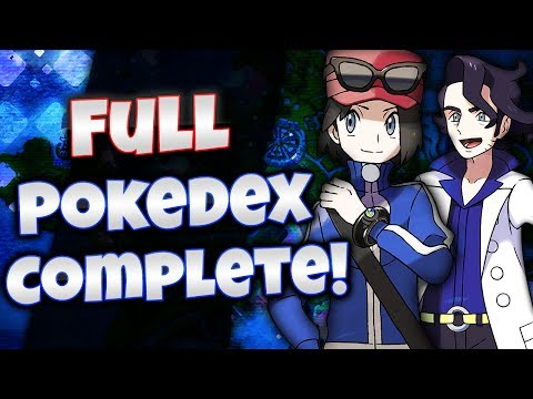 Pokemon X And Y - Full Pokedex Complete! [All 718 Pokemon]