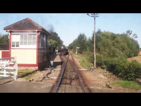 KESR Cab Ride Bodiam to Tenterden (Kent and East Sussex Railway)