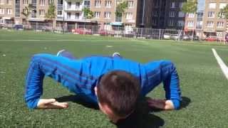 Как отжиматься на кистях рук(Видео урок о накачке кистевых мышц при помощи отжиманий. Показана правильная техника выполнения этого..., 2015-06-16T18:06:47.000Z)