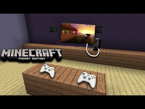 How to make a Working Xbox(Redstone)-Minecraft Pocket Edition/Win10
