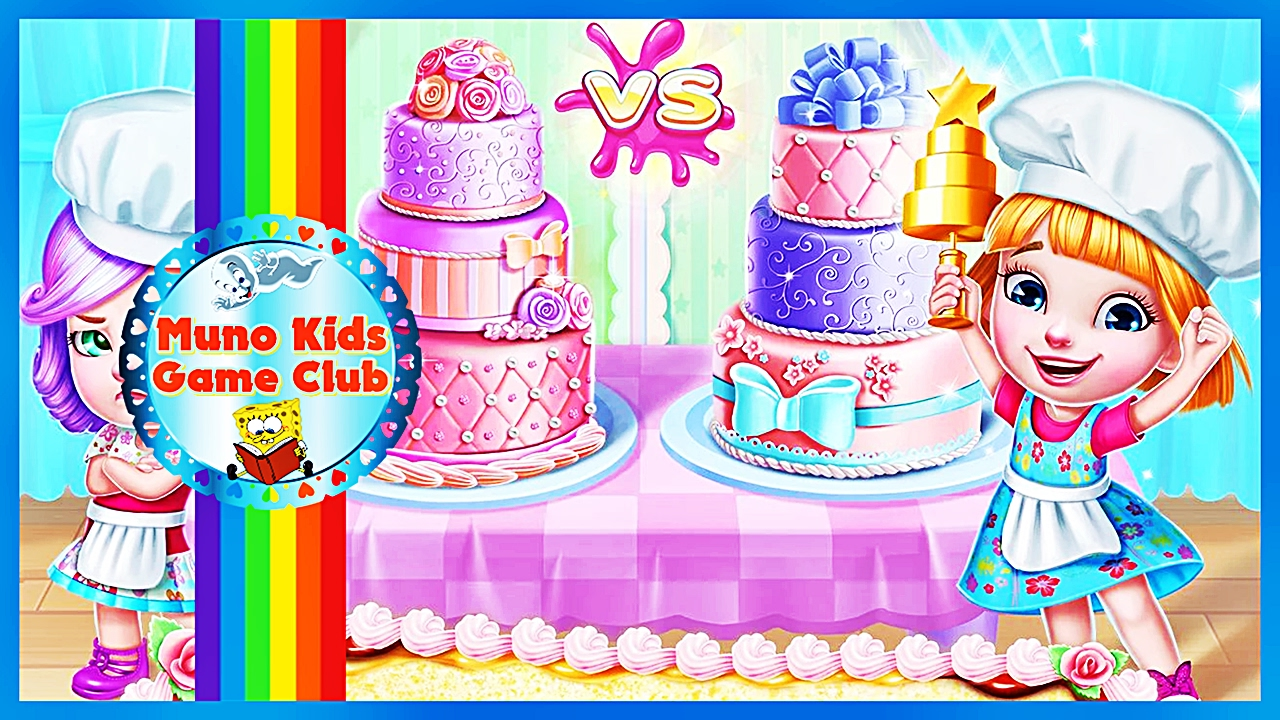 Real Cake Maker 3d How To Make Cakes Games Games For Kids Youtube