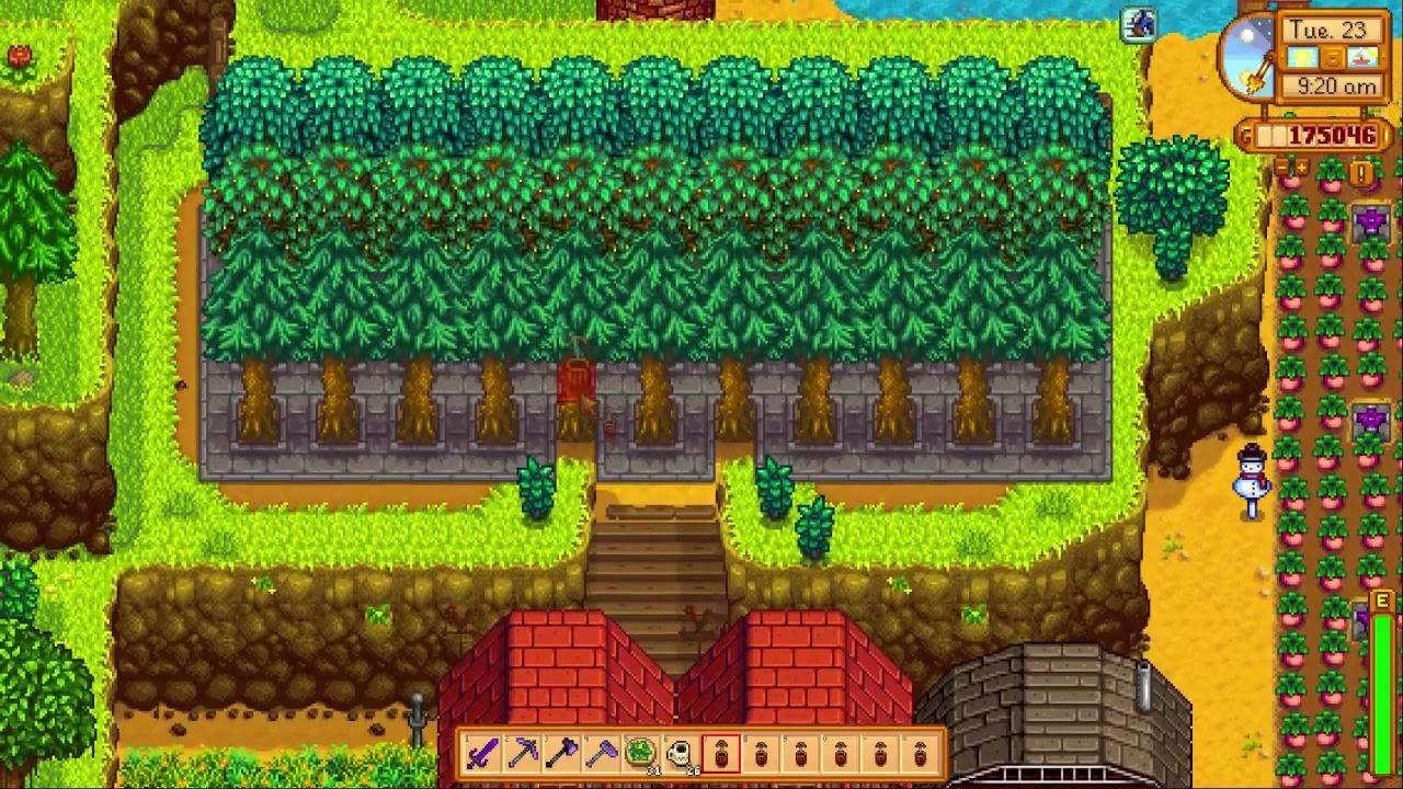 Stardew valley 11 Hill Top Farm Episode 61 Oak Resin