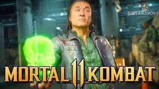 "The AMAZING MK Movie Shang Tsung Skin! - Mortal Kombat 11: ""Shang Tsung"" Gameplay"