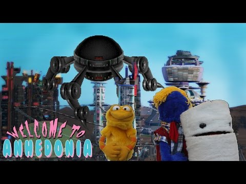 How to Apply To College [Welcome to Anhedonia] Punk Rock Puppet Show
