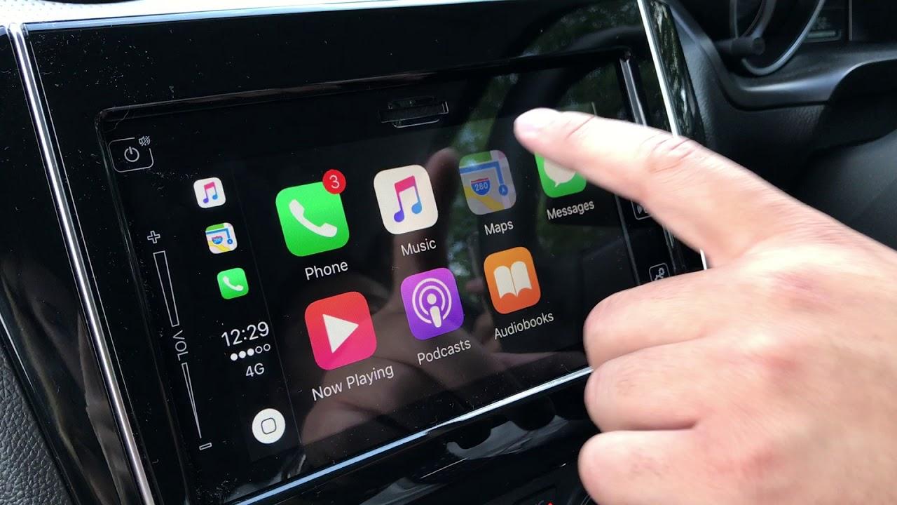 Using Apple CarPlay in the New Suzuki Swift - YouTube
